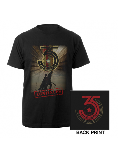 35th Anniversary Continues T-Shirt 1979-2015