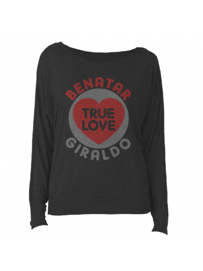 True Love Ladies Slouchy Long Sleeve
