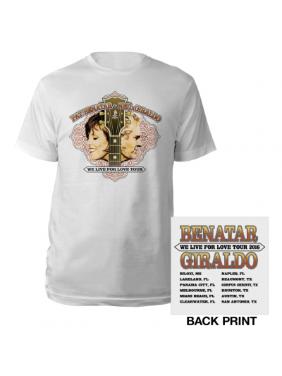 Live for Love 2016 Guitar Tour T-Shirt
