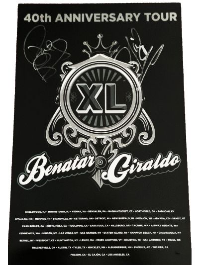 SIGNED 1979-2019 40th Anniversary Tour Poster *Limited Quantities Available!*