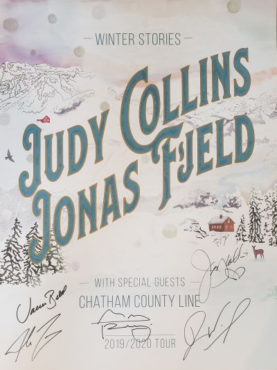 Autographed Winter Stories Tour Poster