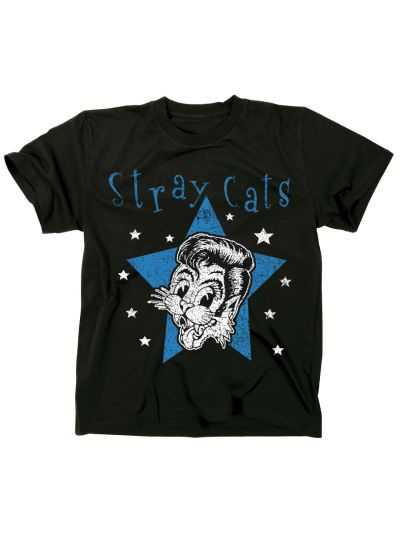 Stray Cats - Star Cat T-Shirt