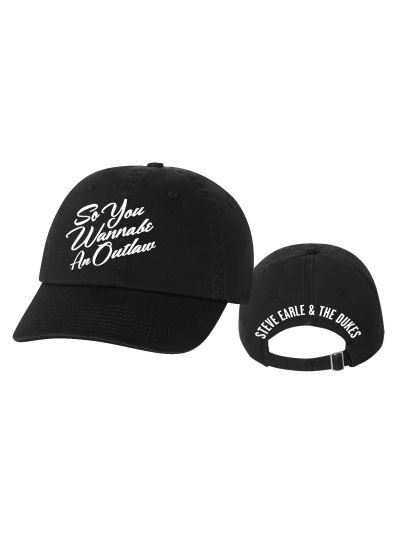 Steve Earle - Outlaw Twill Dad Cap