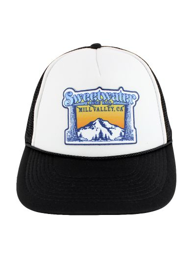 Sweetwater Music Hall - Mt. Tam Logo Trucker Cap