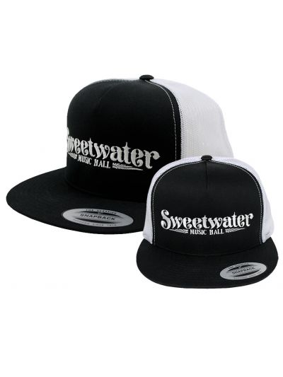 Sweetwater Music Hall Embroidered Logo Trucker Cap
