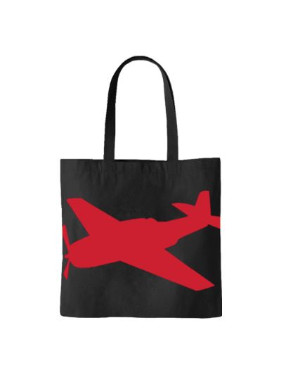 "Talking Heads ""Big Plane"" Tote Bag"