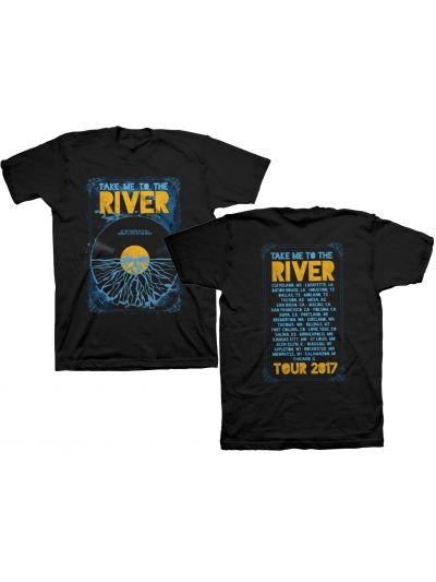 Take Me To The River Tour 2017 T-Shirt - Black