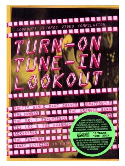 Lookout Records Turn On Tune In Compilation DVD