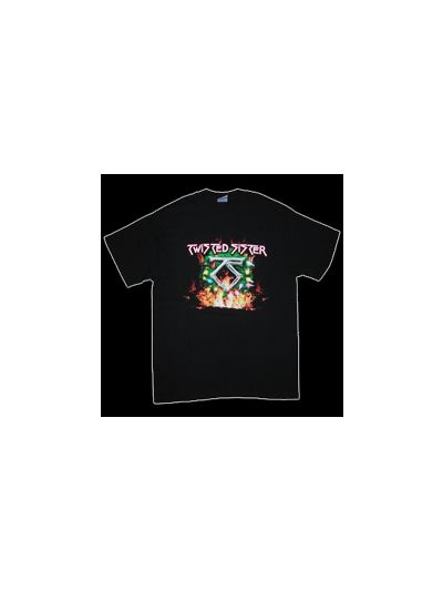Twisted Sister - 2007 Twisted Christmas Tour T-Shirt