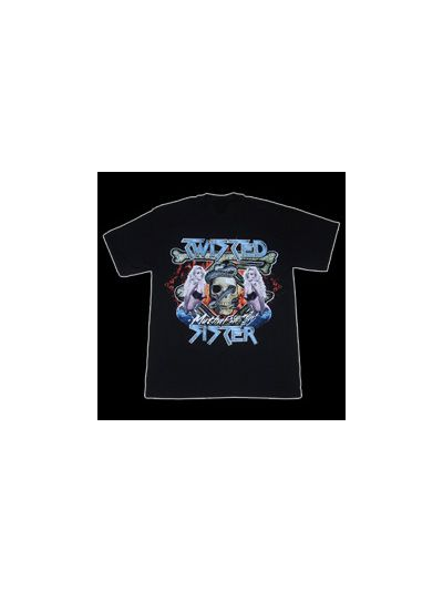 Twisted Sister - Chick Skull - 25th Anniversary T-Shirt
