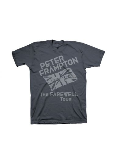 Peter Frampton - Union Jack Farewell T-Shirt