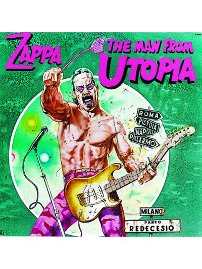 Vintage The Man from Utopia Poster