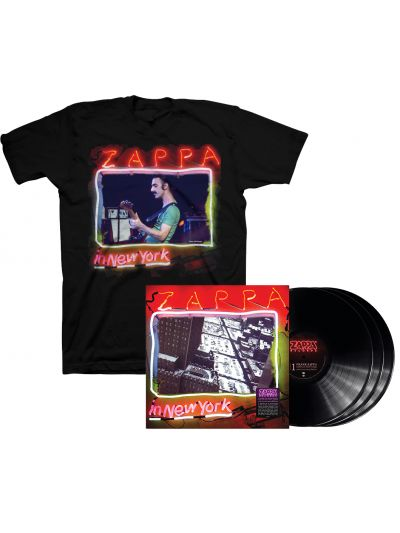 Zappa In New York - 40th Anniversary Edition 3LP & T-Shirt Package