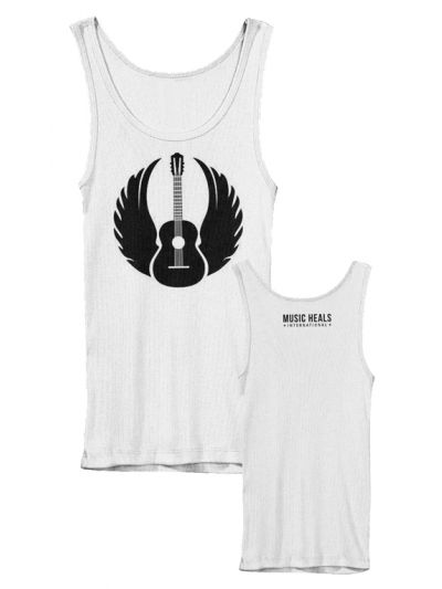 Music Heals International - Winged Guitar Ladies Tank Top