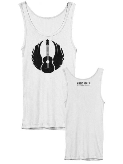 Music Heals International - Winged Guitar Men's Tank Top