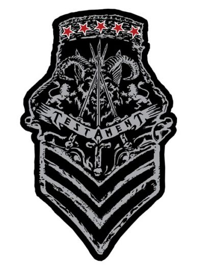 Testament - Woven Army Patch