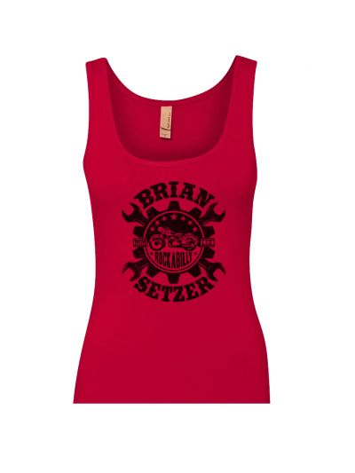 Brian Setzer - Wrench Juniors Tank Top
