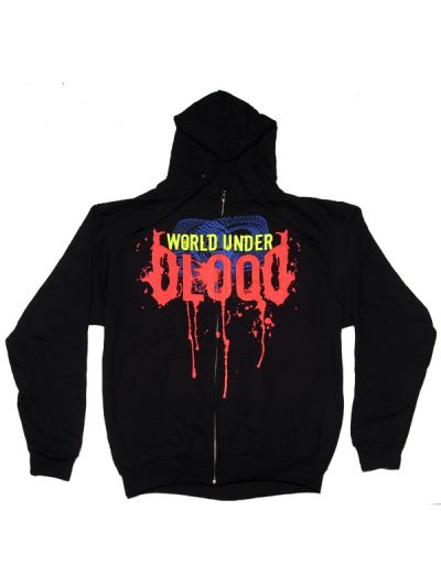 World Under Blood - Drip Full Colored Hooded Sweatshirt