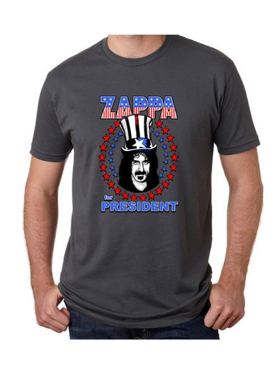 Zappa Star Spangled For President