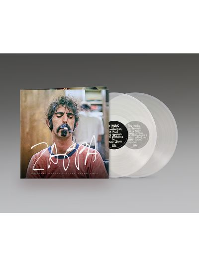 Zappa Original Motion Picture Soundtrack 2LP Set (180g Crystal Clear Vinyl)