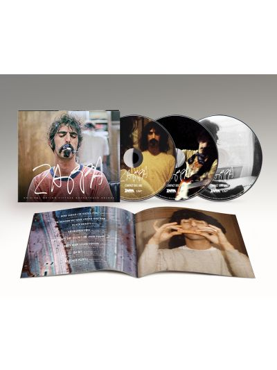 Zappa Original Motion Picture Soundtrack 3CD Set PREORDER